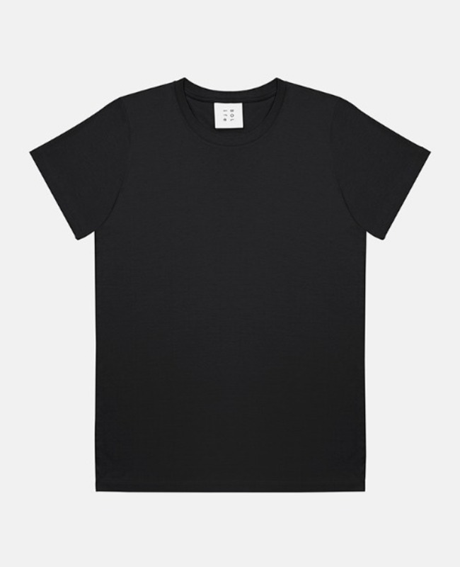 Basic Short Top: black