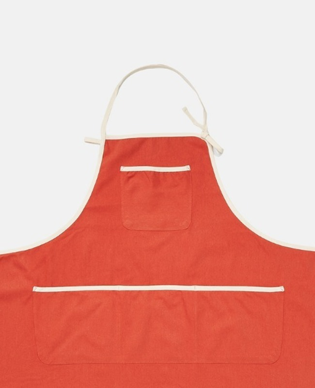 Trimming Apron: Orange